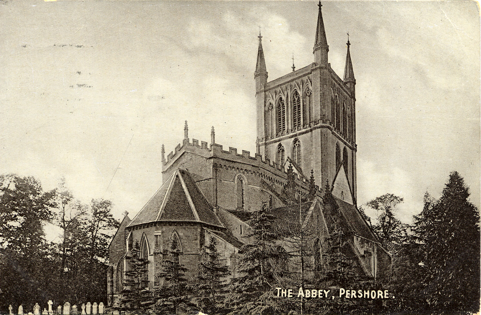 Pershore Abbey History Pershore Abbey Features in