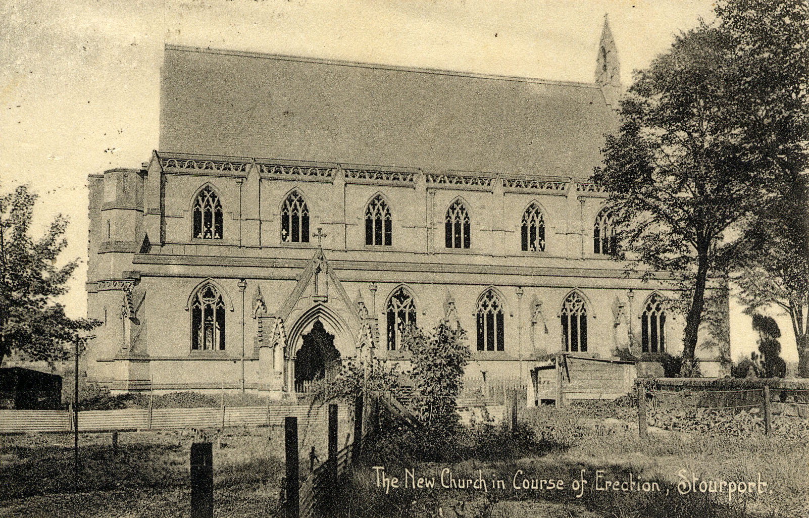 St Michaels ext from old postcard c1909